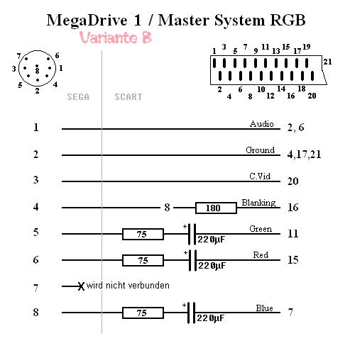 Master System 2: RGB Out - 50/60Hz - LED - Seite 9 - Sega - Circuit ...